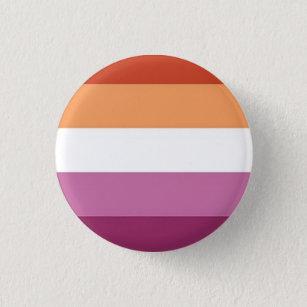 New Lesbian Flag Pride Pin