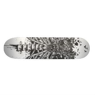 New life (blackandwhite) skateboard