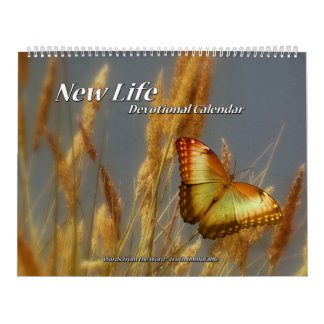 New Life Devotional Calendar two page