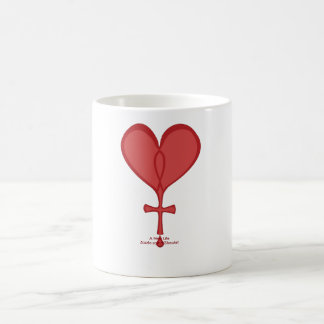 New Life Heart Art Ceramic Mug by Kevin Shea