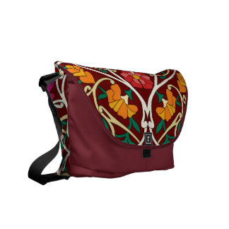 new line oriental style 3 messenger bag