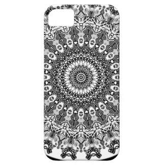 New Linear Black White Gray Kaleidoscope iPhone 5 Cases