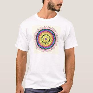 New Linear Soft Sand Yellow Blue T-Shirt