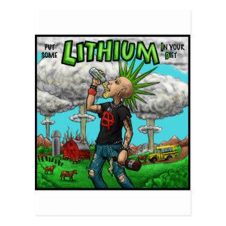 new lithium id stuff postcard