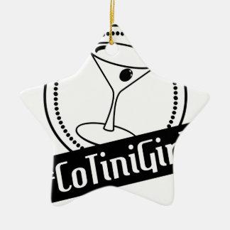 New Logo Ceramic Ornament