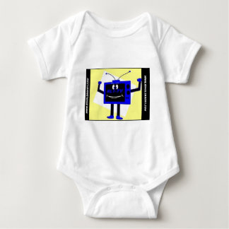 NEW LOGO FROM BLOG WITH DOT COM BABY BODYSUIT
