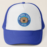 """New Logo Trucker Hat<br><div class=""""desc"""">Click to change style and color</div>"""