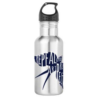 New logo water bottle