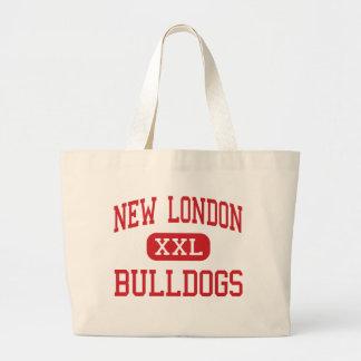 New London - Bulldogs - High - New London Tote Bags