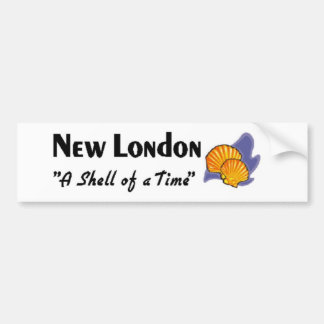 New London Connecticut Bumper Sticker