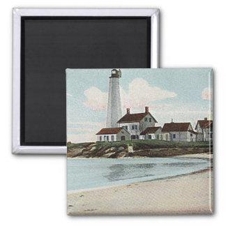 New London Harbor Lighthouse Magnet