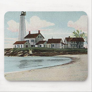 New London Harbor Lighthouse Mouse Pad