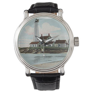 New London Harbor Lighthouse Wristwatch