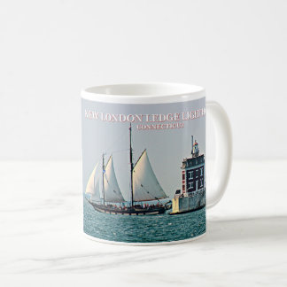 New London Ledge Lighthouse, Connecticut Mug