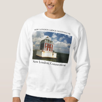 New London Ledge Lighthouse, Connecticut Sweatshirt