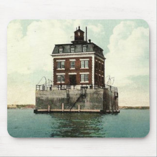 New London Ledge Lighthouse Mouse Pad