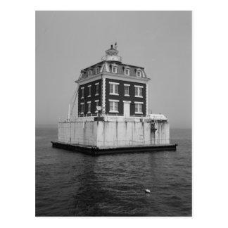 New London Ledge Lighthouse Postcard