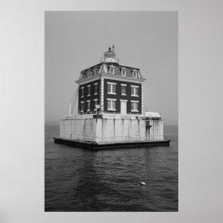 New London Ledge Lighthouse Poster