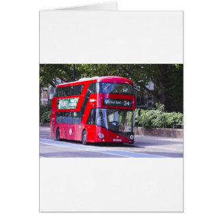 New London Red Bus Card
