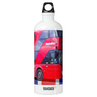 New London Red Bus Water Bottle
