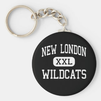 New London - Wildcats - High - New London Keychains