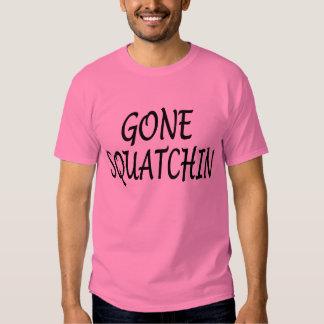 New Look Popular GONE SQUATCHIN Finding Bigfoot Shirt