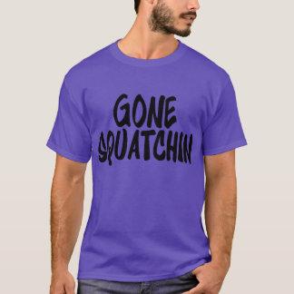 New Look Super Cool GONE SQUATCHIN Bigfoot Fan's T-Shirt