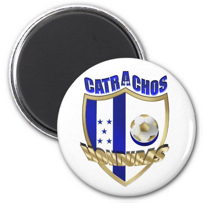 New Los Catrachos 2010 Honduras futbol gifts 2 Inch Round Magnet
