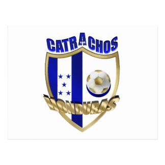 New Los Catrachos 2010 Honduras futbol gifts Postcard