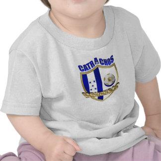 New Los Catrachos 2010 Honduras futbol gifts T Shirts