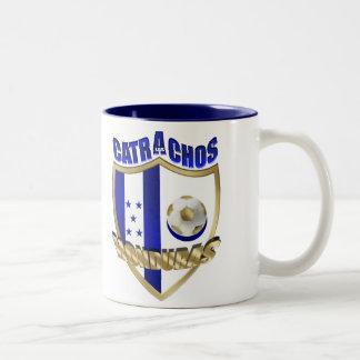 New Los Catrachos 2010 Honduras futbol gifts Two-Tone Coffee Mug