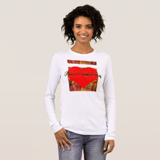 New MADRAS procession > Heart of Madras Guamayane® Long Sleeve T-Shirt