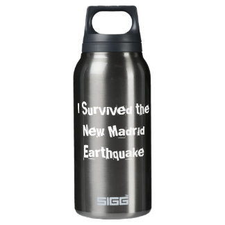 New Madrid Earth Quake Insulated Water Bottle