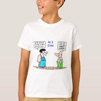 new man credit cards gym T-Shirt