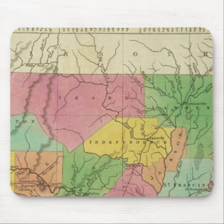 New Map Of Arkansas 2 Mouse Pad