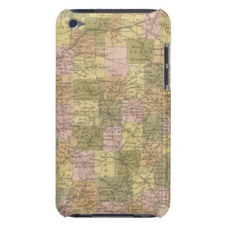 New Map Of Indiana iPod Touch Case-Mate Case