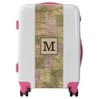 New Map Of Indiana | Monogram Luggage