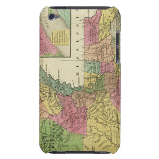 New Map Of Louisiana 2 Case-Mate iPod Touch Case