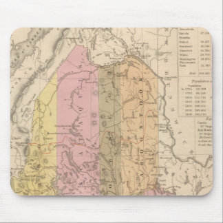 New Map of Maine Mouse Pad