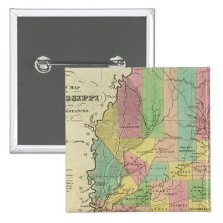 New Map Of Mississippi 2 Pin