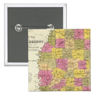 New Map Of Mississippi Button