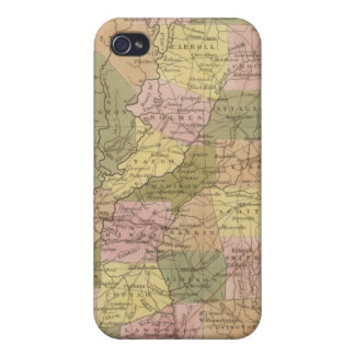 New Map Of Mississippi Cover For iPhone 4