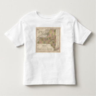 New Map Of New York Shirt