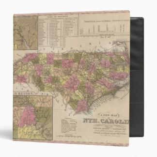 New Map Of North Carolina Binder