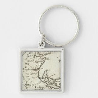 New Map of Nova Scotia, New Brunswick Key Chains