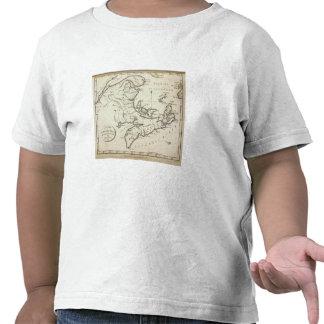 New Map of Nova Scotia, New Brunswick Shirts