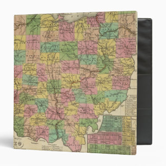 New Map Of Ohio 2 Binder