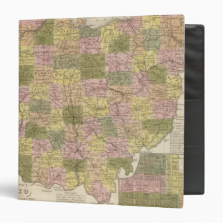 New Map Of Ohio 3 Ring Binder