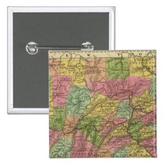 New Map Of Pennsylvania Button