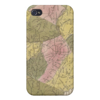 New Map Of South Carolina 2 iPhone 4 Cover